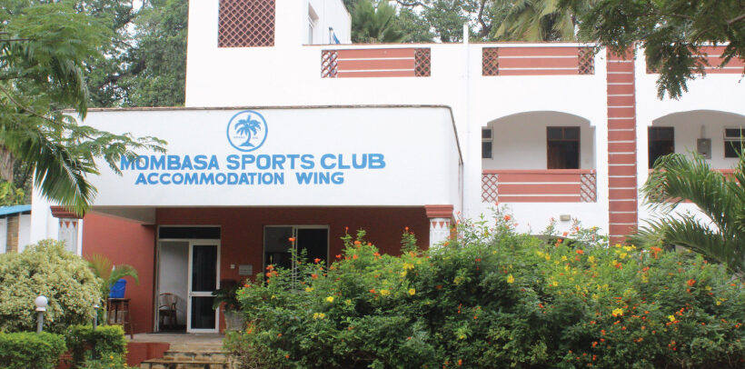 Image showing the Front of Mombasa Sports Club's Accommodation Wing.