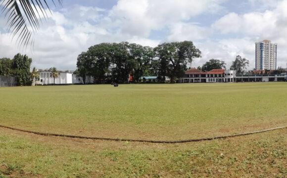 Mombasa Sports Club. ODI standard-Cricket Pitch