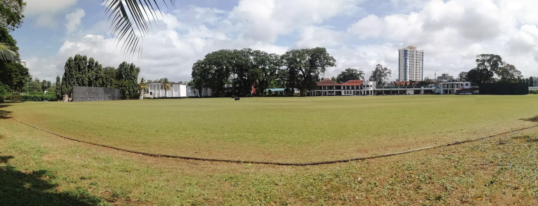 Mombasa Sports Club. ODI standard-Cricket Pitch