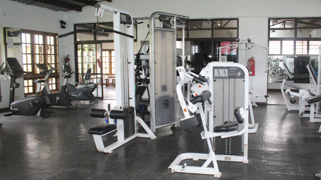An image of the equipment at MSC's Gym